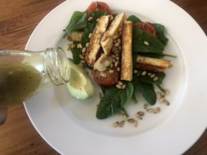 halloumi and toasted pine nuts 05
