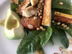 halloumi and toasted pine nuts 04