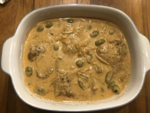 Creamy Green Olive and Paprika Chicken Casserole 07