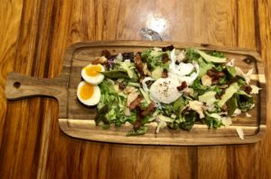Chicken Caesar-Style Salad with Shortcuts
