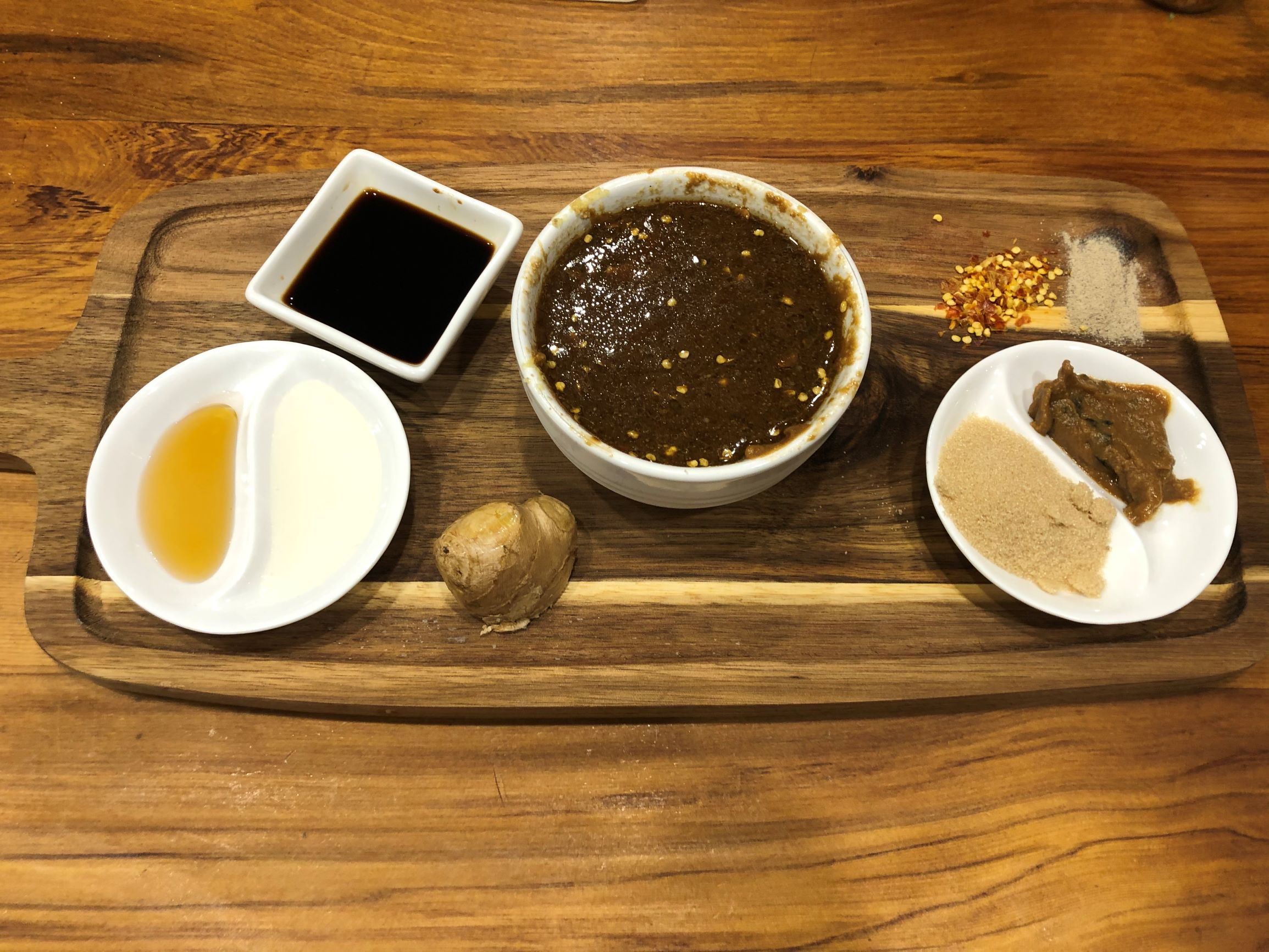 Low Carb Asian Ginger-Miso Dressing or Marinade